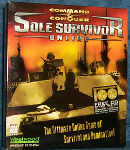 C&C: Sole Survivor Packshot